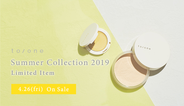 to/one Summer Collection 2019 Limited Item 4.26(fri)On Sale