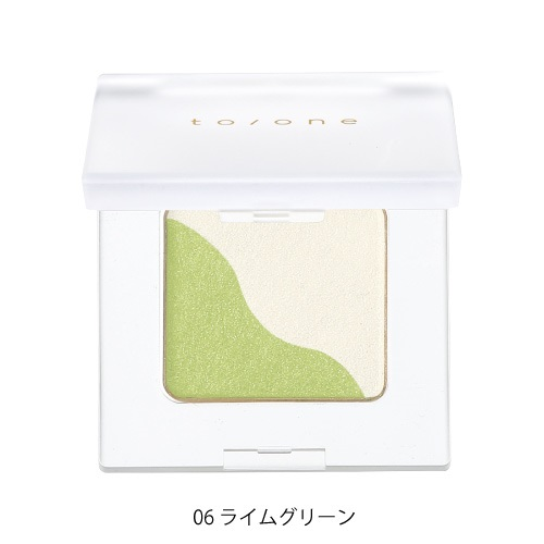 【to/one】ペタル アイシャドウ<全30色>(06:ライムグリーン - 06:Lime green)