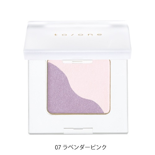 【to/one】ペタル アイシャドウ<全24色>(07:ラベンダーピンク - 07:Lavender pink)
