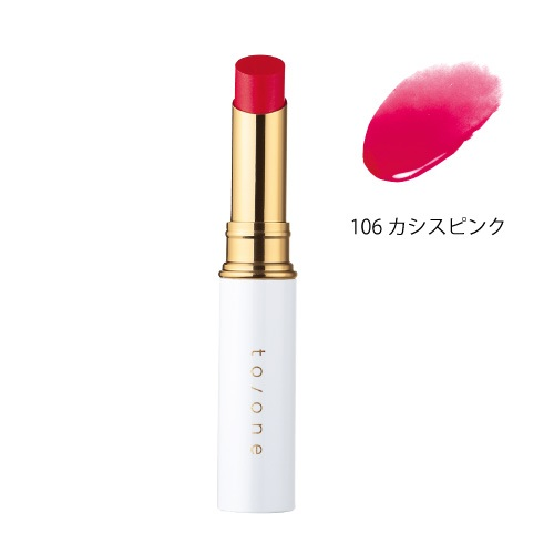 【to/one】ペタル エッセンス リップ<全30色>(106:カシスピンク - 106:Cassis Pink)