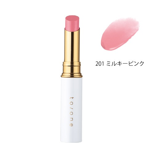 【to/one】ペタル エッセンス リップ<全27色>(201:ミルキーピンク - 201:Milky Pink)
